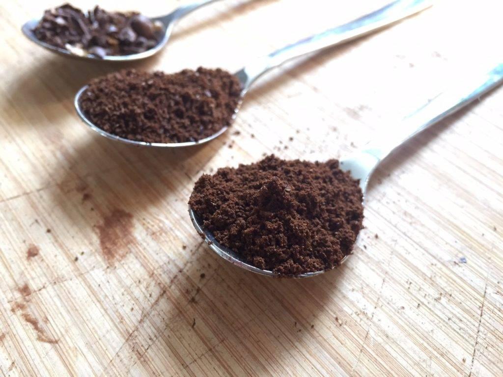 Тонкости помола кофе в кофемолке