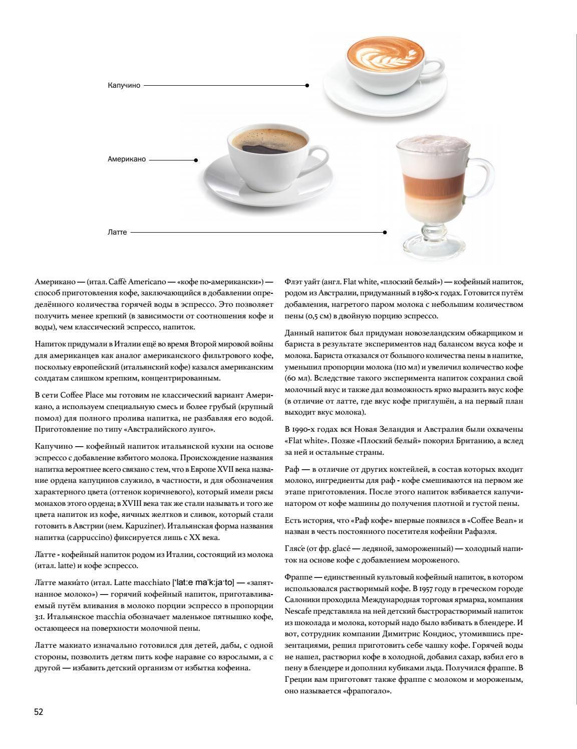 Кофе капучино: рецепты, секреты, тонкости приготовления