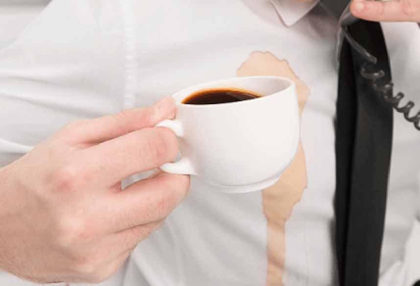 Народные способы, помогающие вывести пятна от кофе с одежды ☕