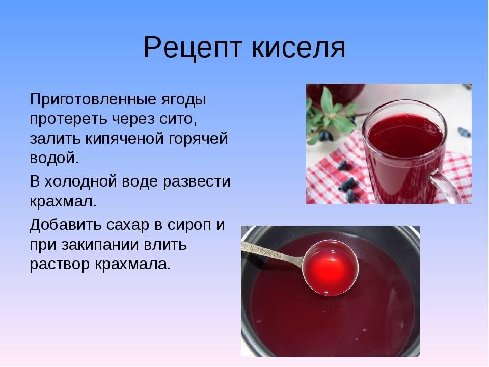 Кисель из клюквы: рецепты приготовления в домашних условиях пошагово, польза и вред