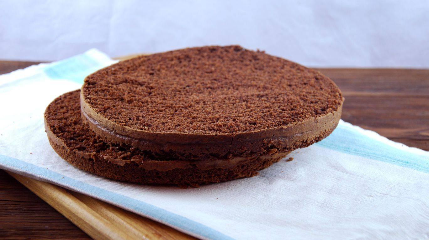 Рецепт классического шоколадного бисквита в домашних условиях с фото пошагово