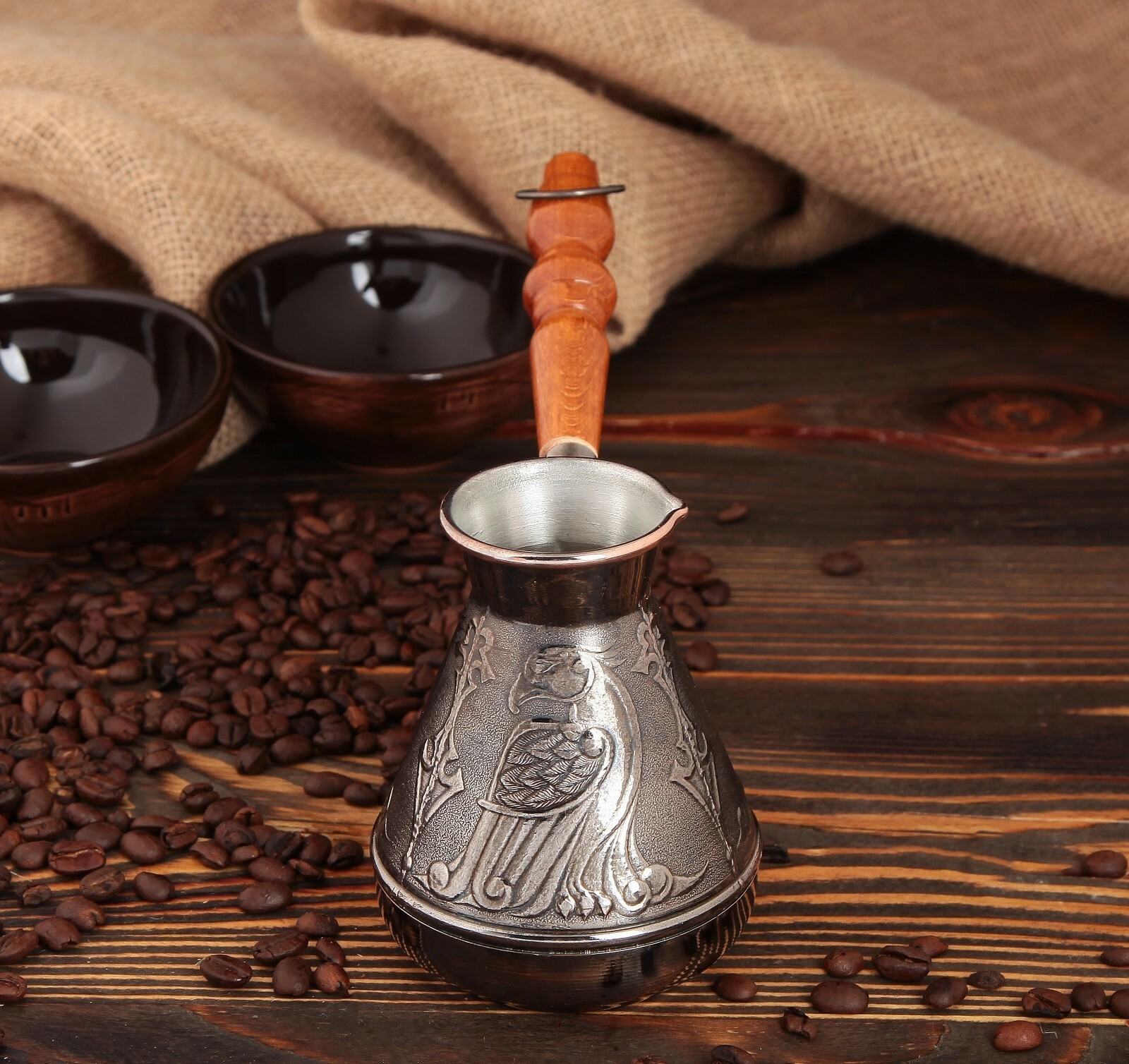 Как варить кофе в турке на газовой и электрической плите