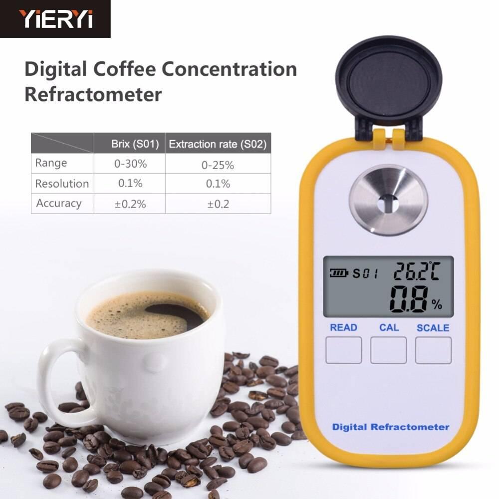 Рефрактометр для кофе - что это такое, где купить