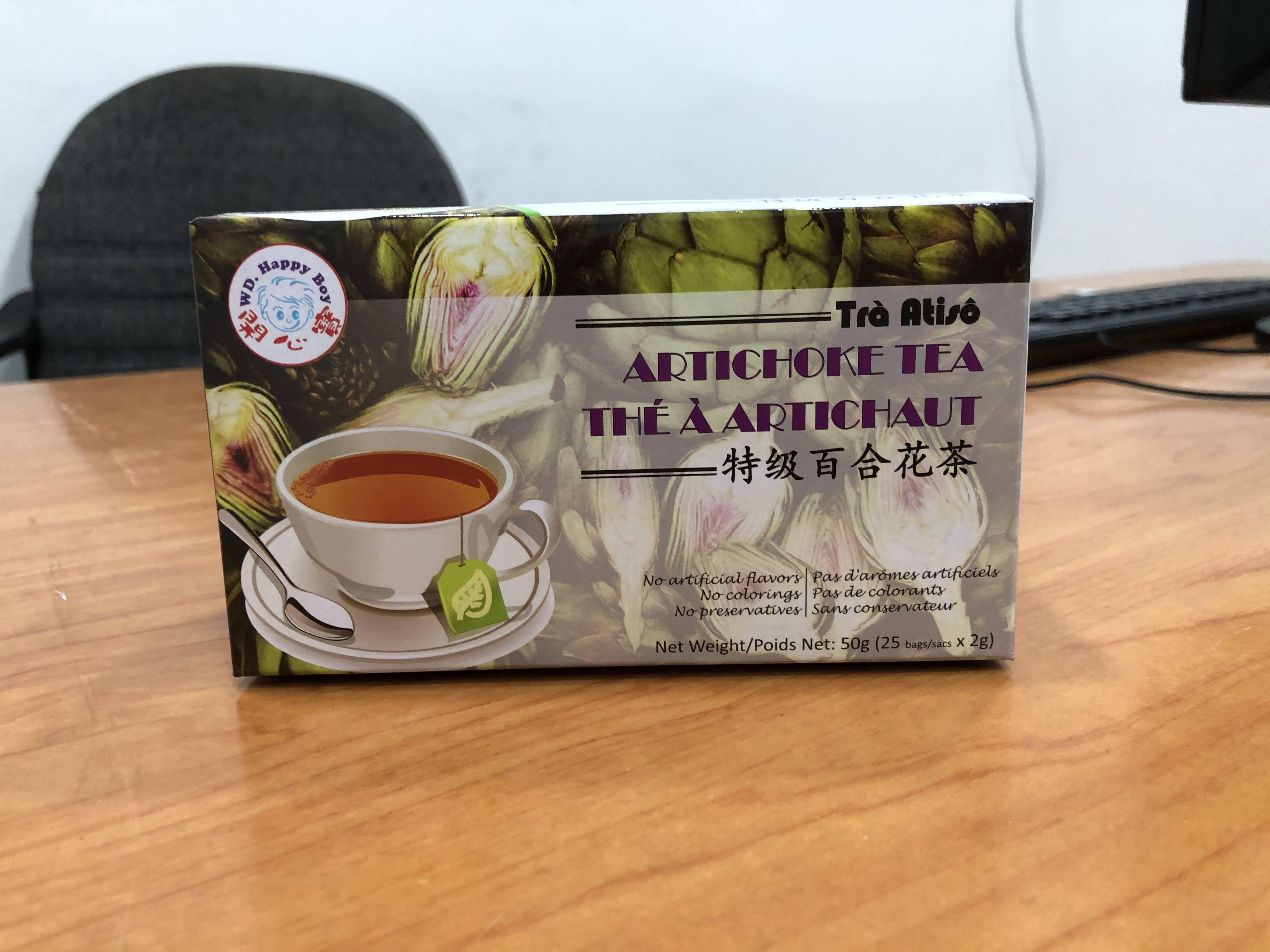 Чай с артишоком из вьетнама полезные свойства и противопоказания