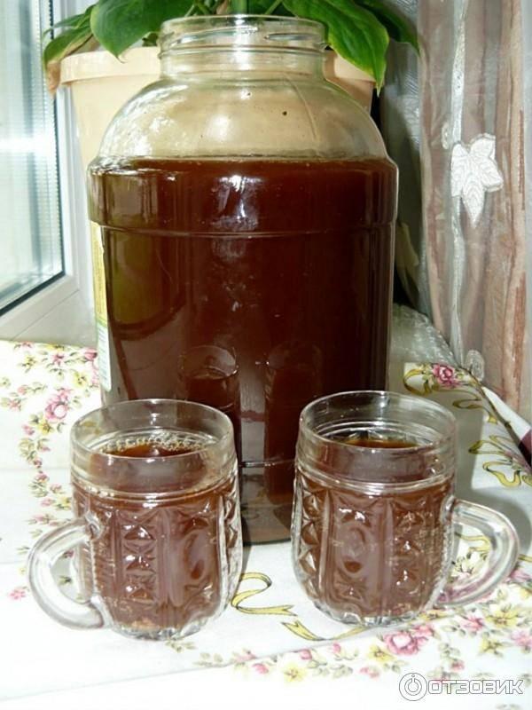 Квас из солода ржаного ферментированного - рецепт приготовления