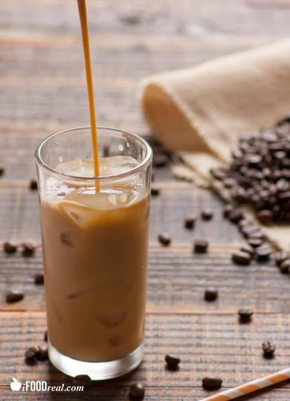 Как приготовить кофе айс латте