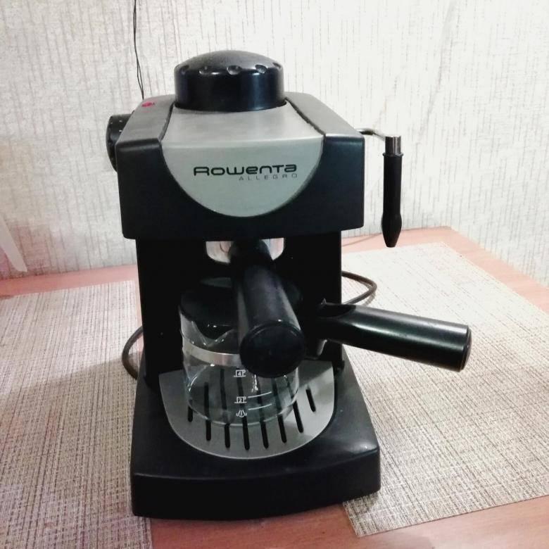 Особенности работы и обзор кофеварки rowenta