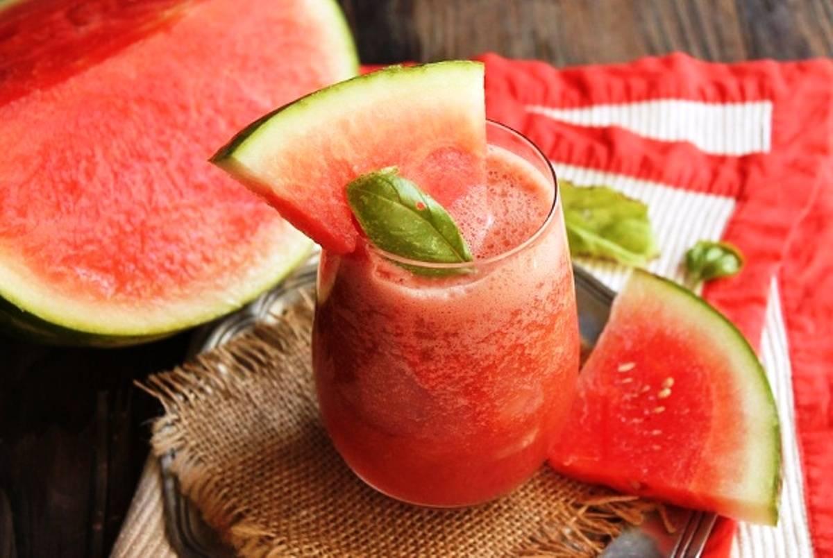 Смузи из арбуза – напиток для жаркого лета