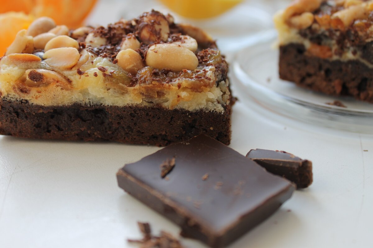 Рецепт брауни - лучший способ разнообразить сладкое меню!