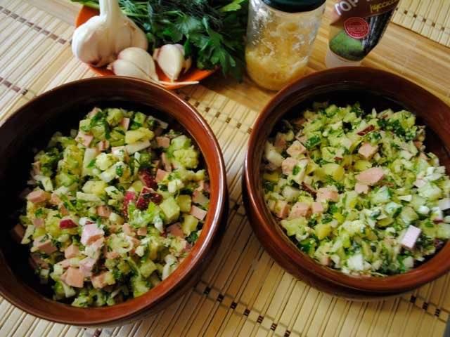 Окрошка классическая, с колбасой — 7 рецептов приготовления классики