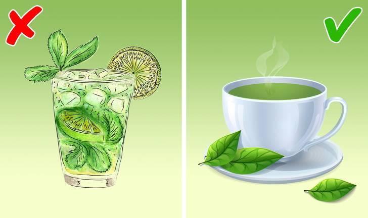 Можно ли пить чай горячим