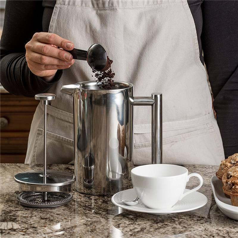 Френч-пресс для кофе: что это такое, как им пользоваться, какие бывают