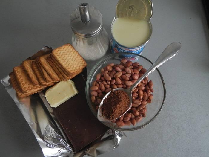 """Десерт """"сладкая колбаска"""". 17 проверенных рецептов с фото - десерты"""