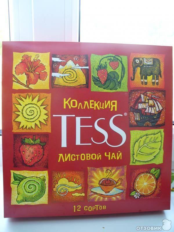 """Чай """"tess"""" - богатый ассортимент насыщенных вкусов"""