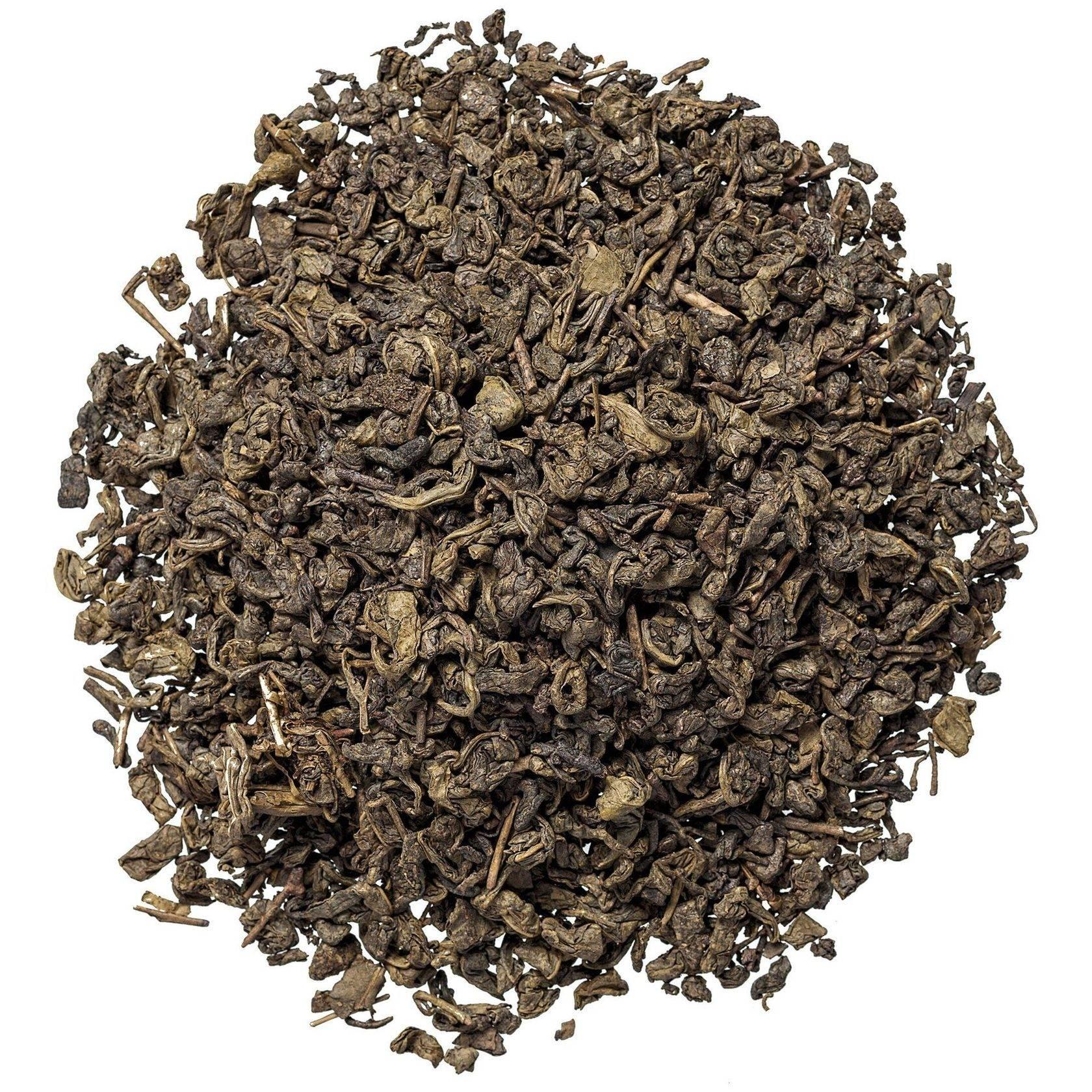 Описание чая ганпаудер порох зеленый