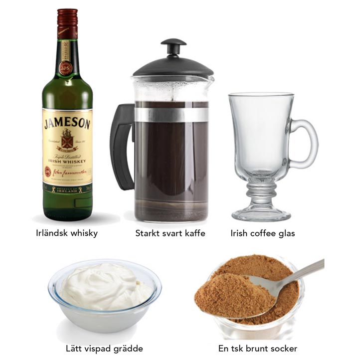 5 рецептов изысканного Айриш кофе с виски