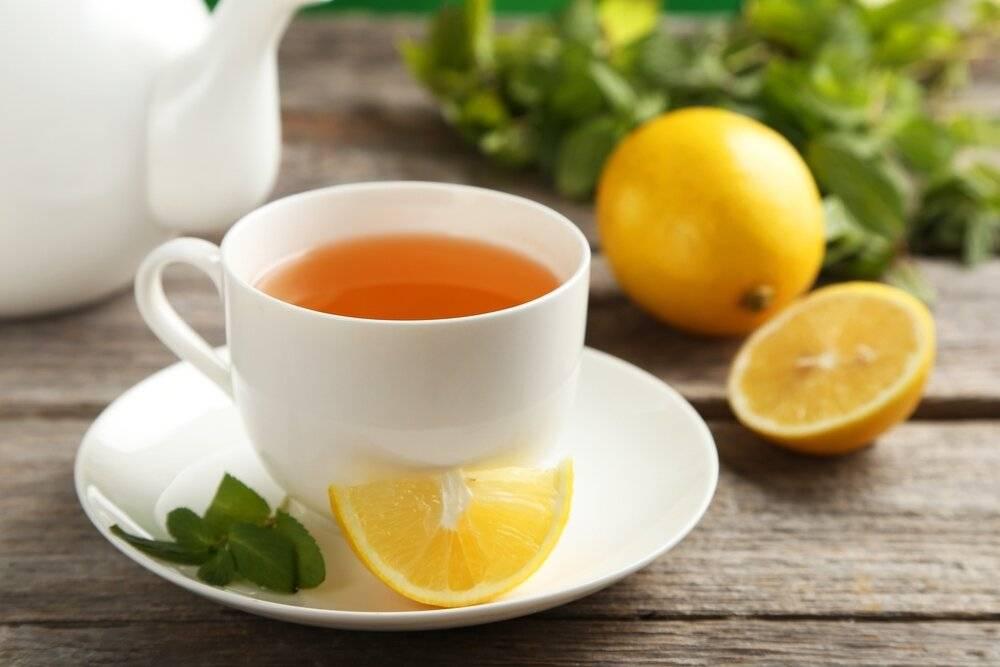 Чай черный с лимоном польза и вред