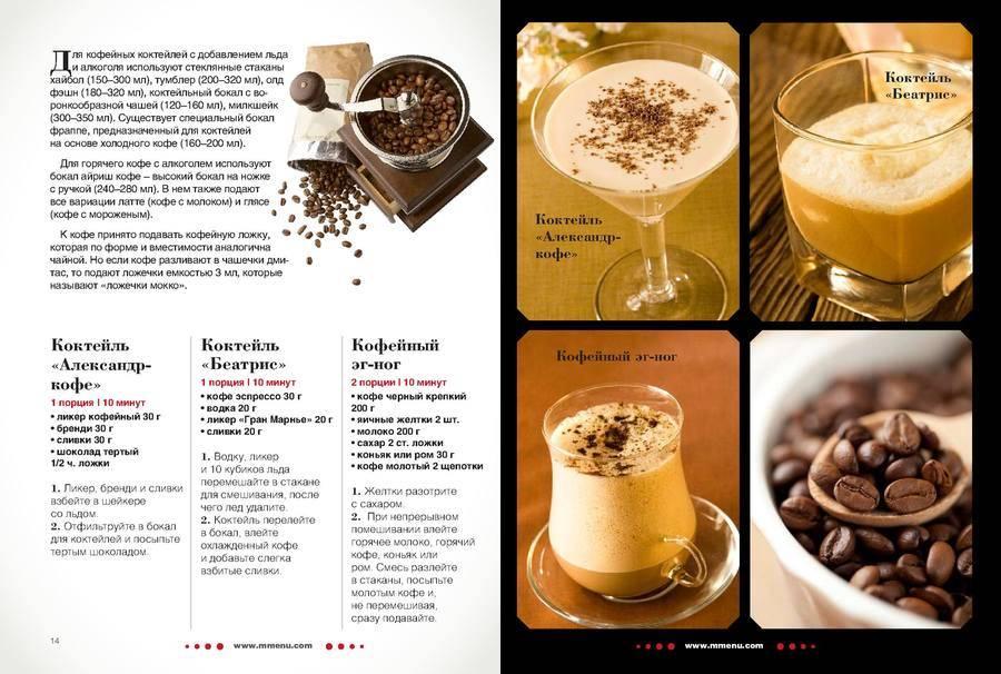 Коктейль кофейный: рецепты. коктейли с кофейным ликером