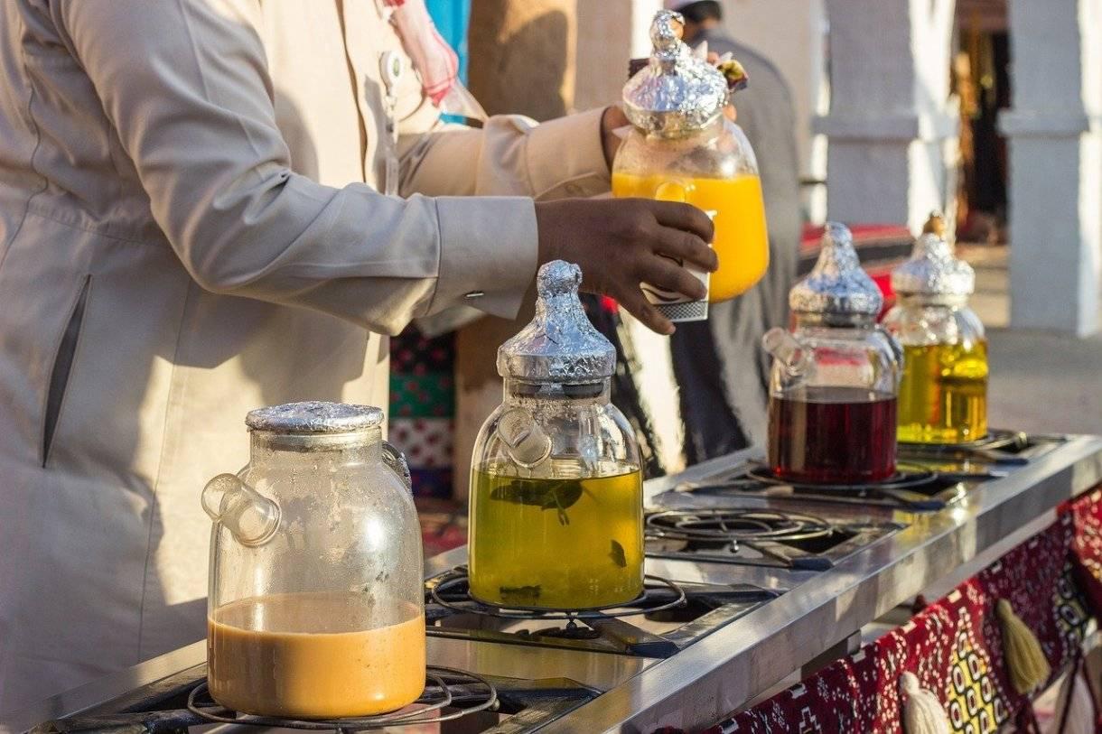 Марокканский чай — состав и рецепты освежающего напитка