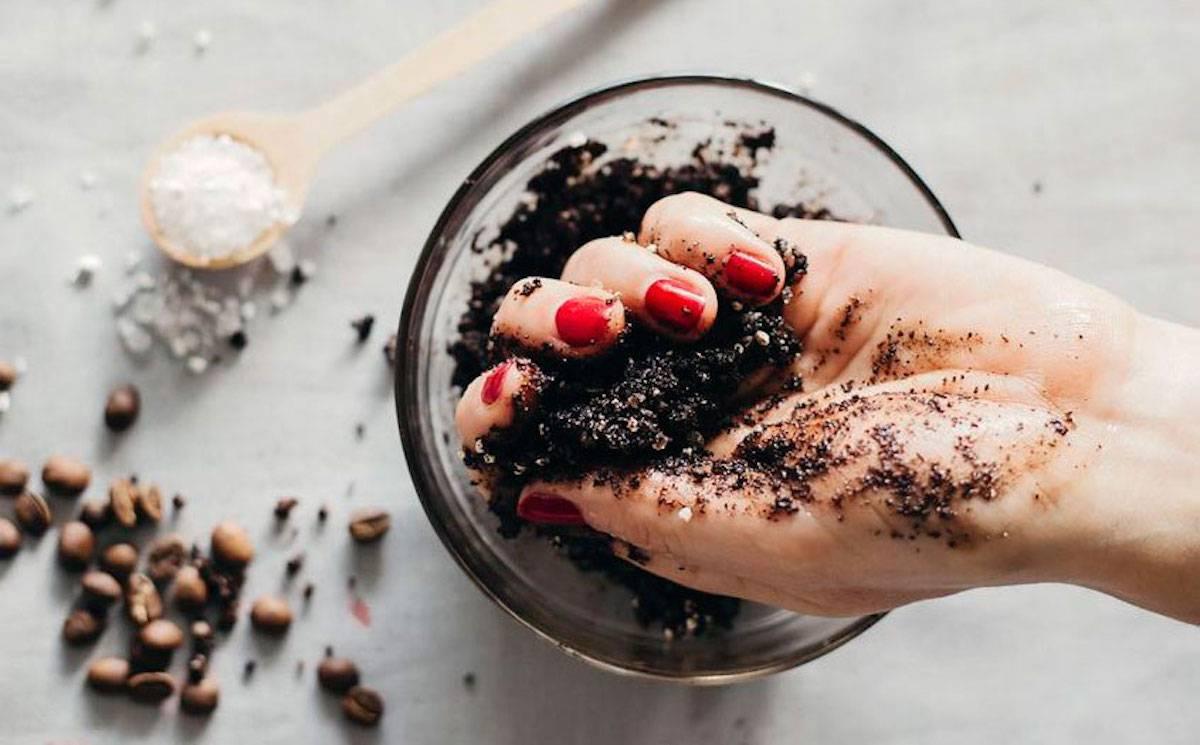 Скраб для лица из кофе от черных точек, рецепты, отзывы