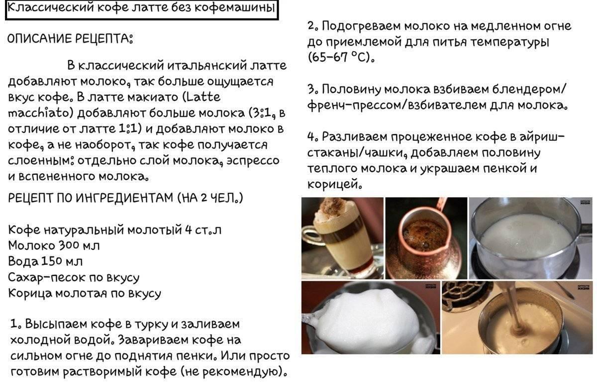 Готовим латте в кофемашине – простые способы