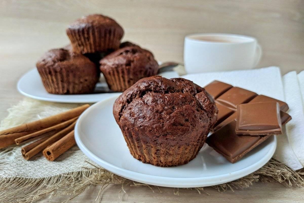 Лучшие рецепты шоколадных маффинов