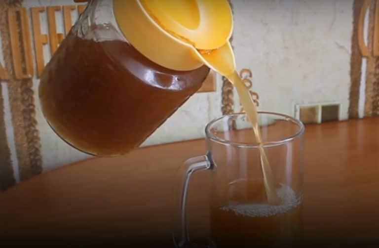 Домашний ржаной белый квас на закваске - рецепт приготовления с фото в домашних условиях