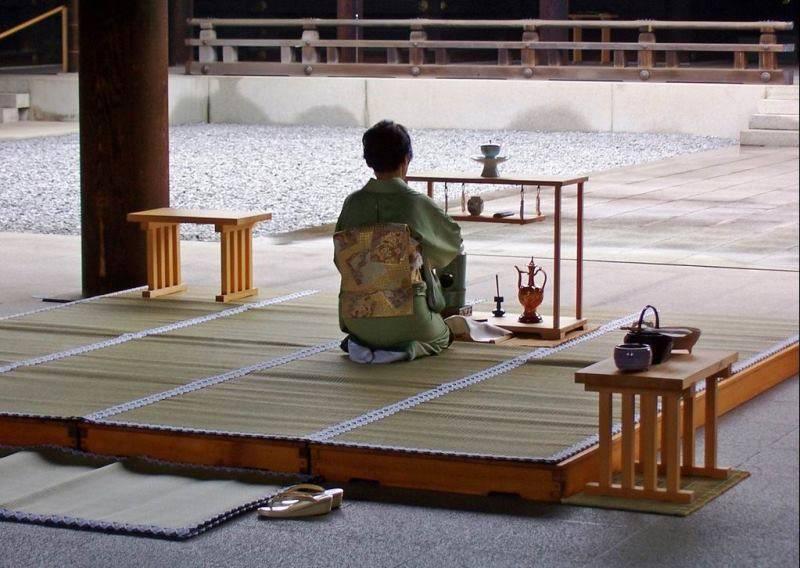 Этикет японской чайной церемонии - teaterra | teaterra