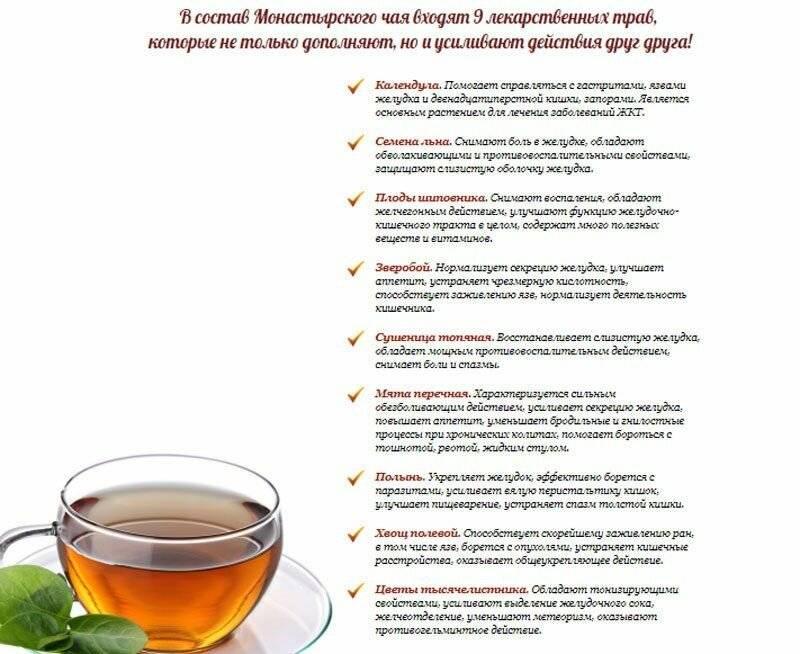 Травяные чаи — лечебные и витаминные