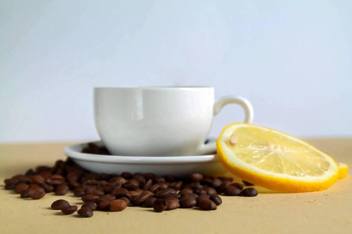 Кофе с лимоном: польза и вред для здоровья | пища это лекарство