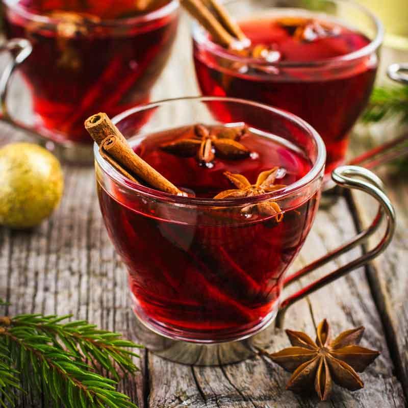 Безалкогольный глинтвейн в домашних условиях: простой рецепты приготовления из сока