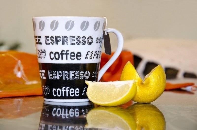 Как приготовить кофе с лимоном