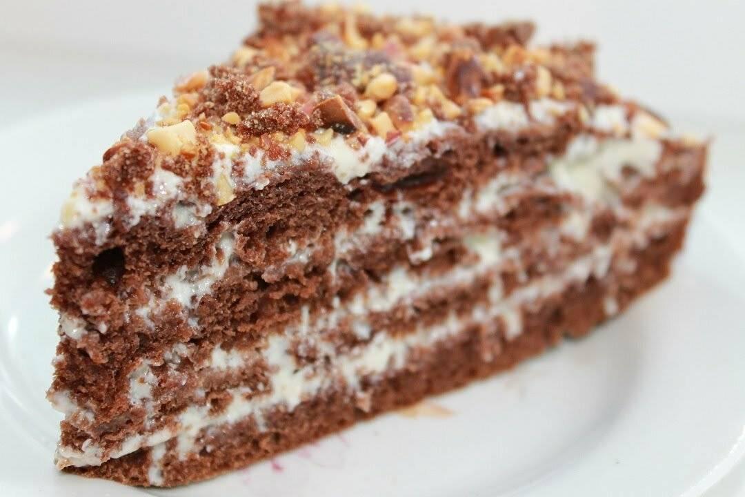 Торт на кефире: рецепты с фото простые и вкусные