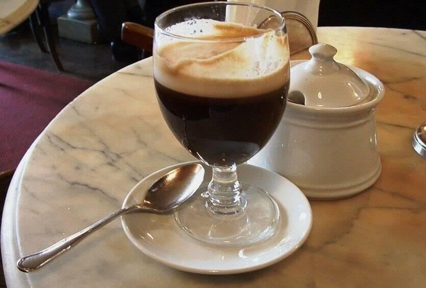 Ирландский кофе: способы приготовления, состав и калорийность