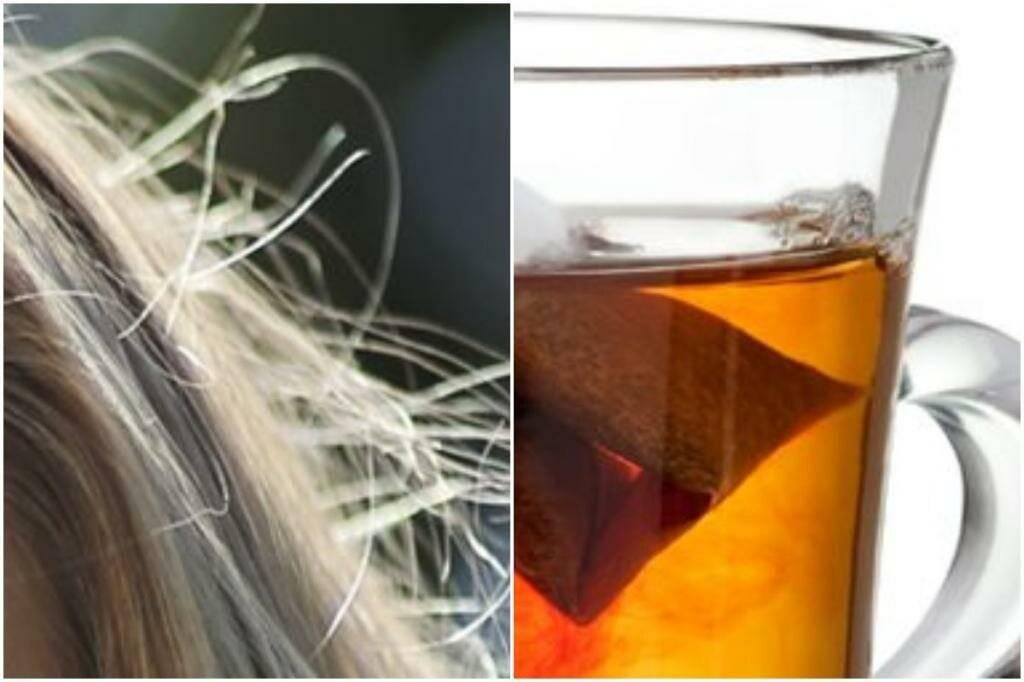Как покрасить волосы чаем? черный чай для волос.