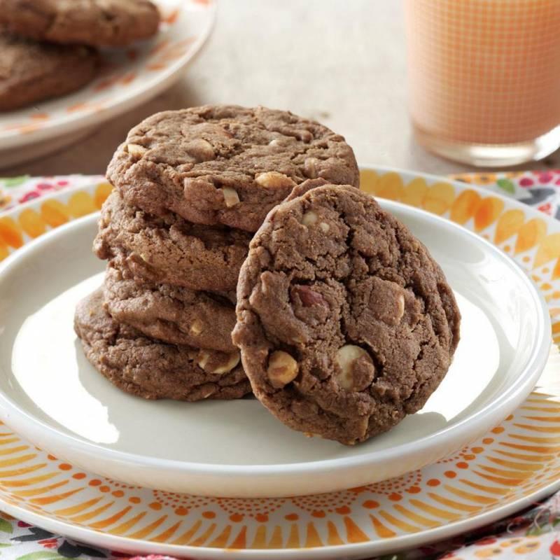 Вкусное шоколадное печенье – лучшие рецепты сфото