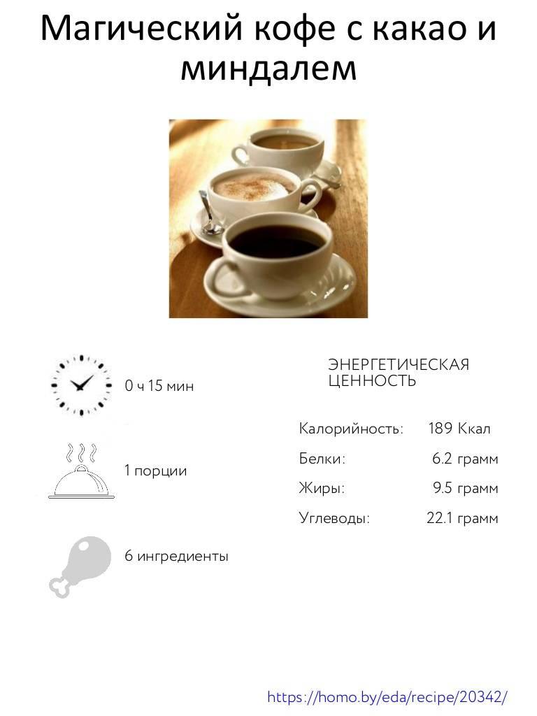 Кофе с шоколадом | рецепты кофе