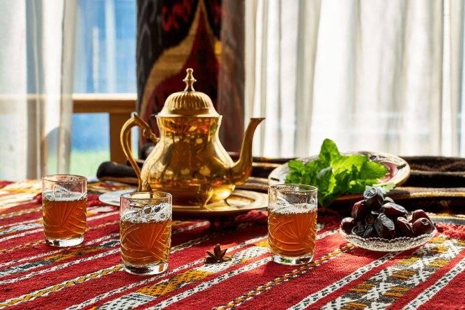 Марокканский чай: рецепт приготовления зеленого чая с марокканской мятой