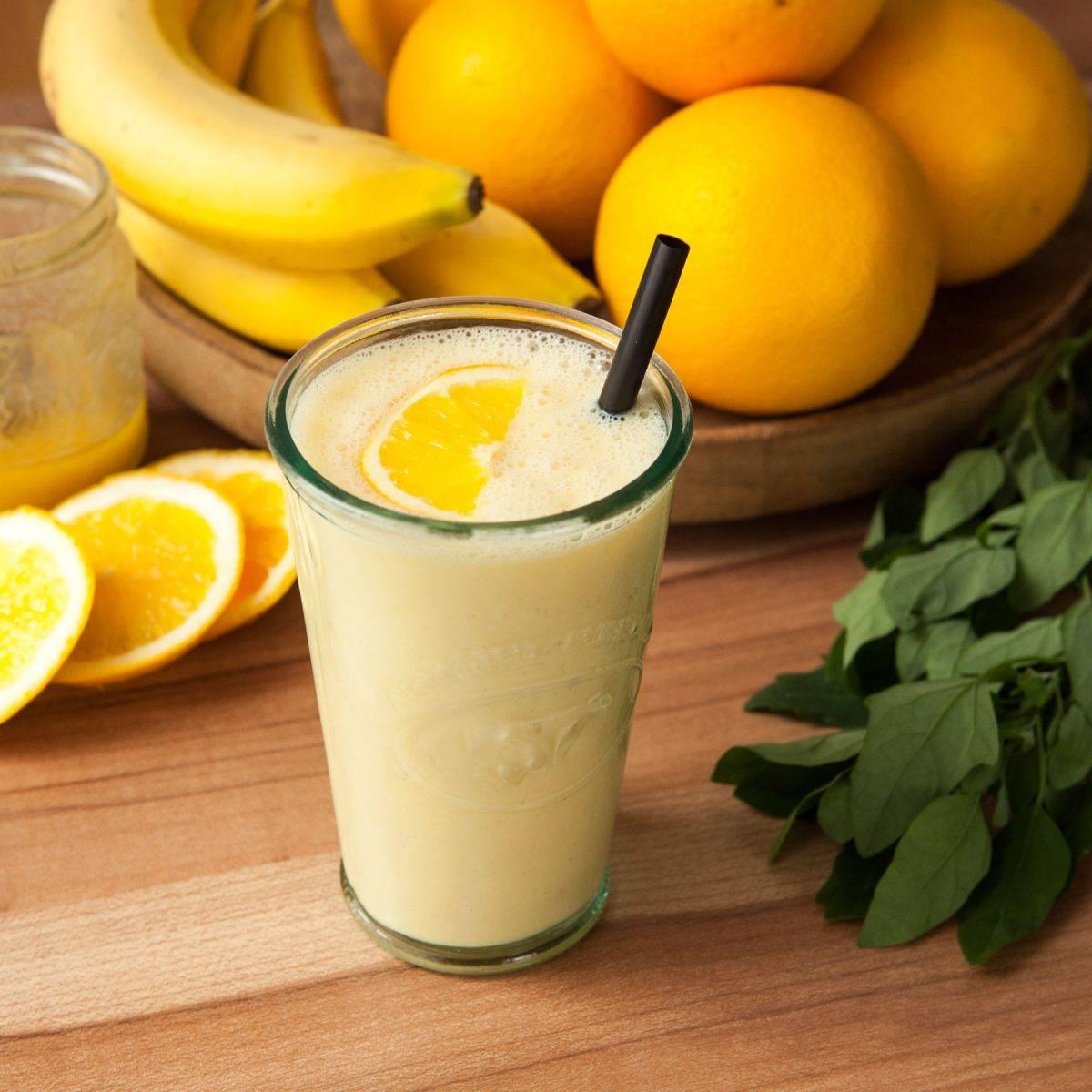Рецепты смузи из апельсина – цитрусовое наслаждение