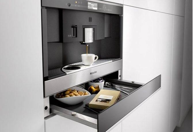 Встраиваемая кофемашина: встроенные модели для дома от siemens и neff на кухню