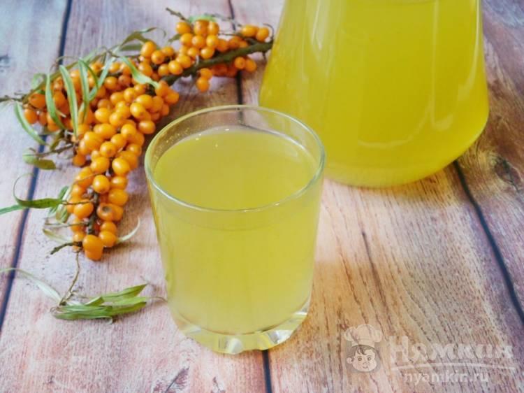 Облепиховый чай – целебный напиток долголетия