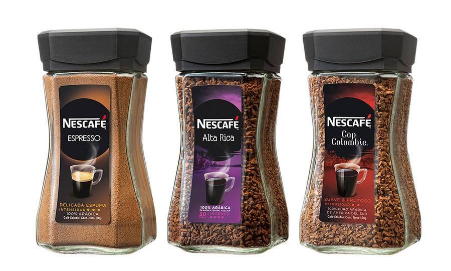 Кофе нескафе голд (nescafe gold) растворимый с добавлением молотого 75 г