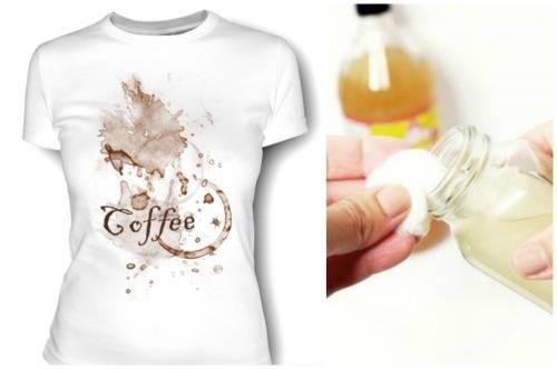 Чем вывести пятно от кофе: обзор проверенных средств