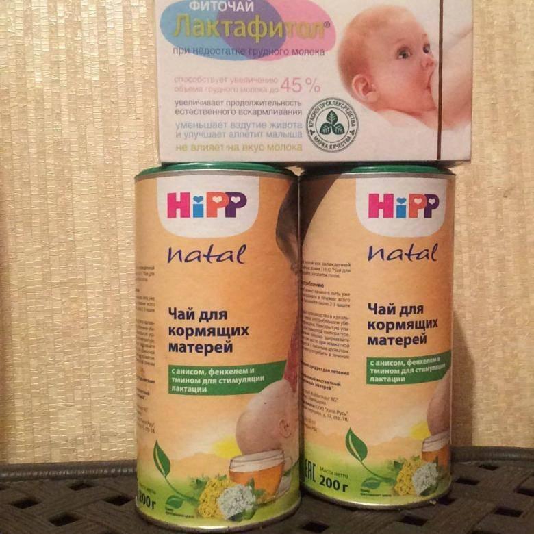Чай hipp для кормящих:  польза для лактации и правила приема