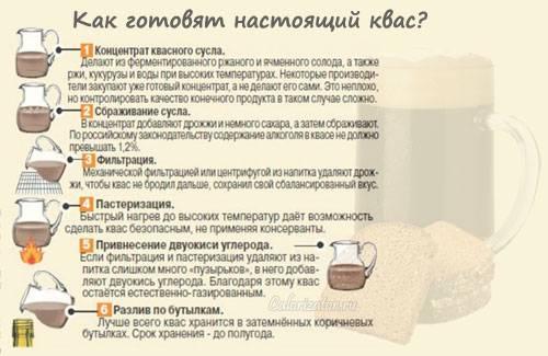 Квас русский напиток: история возникновения — щи.ру