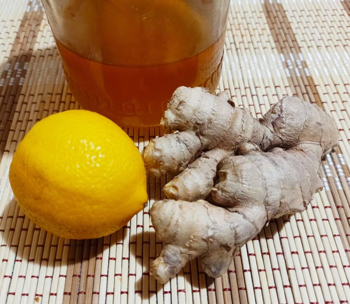Имбирный напиток рецепты с фото
