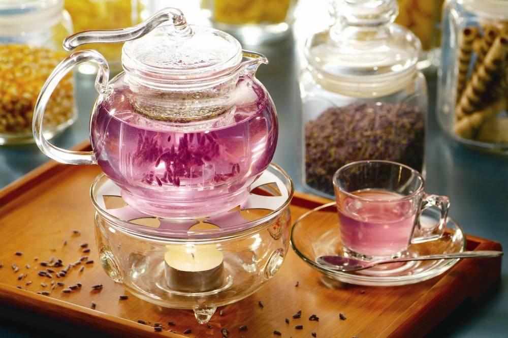 Чем полезен лавандовый чай?