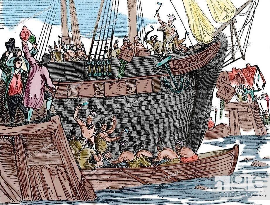 Бостонское чаепитие 1773 года