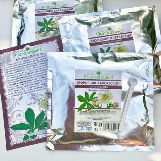 Морозник для похудения - инструкция по применению, как пить траву