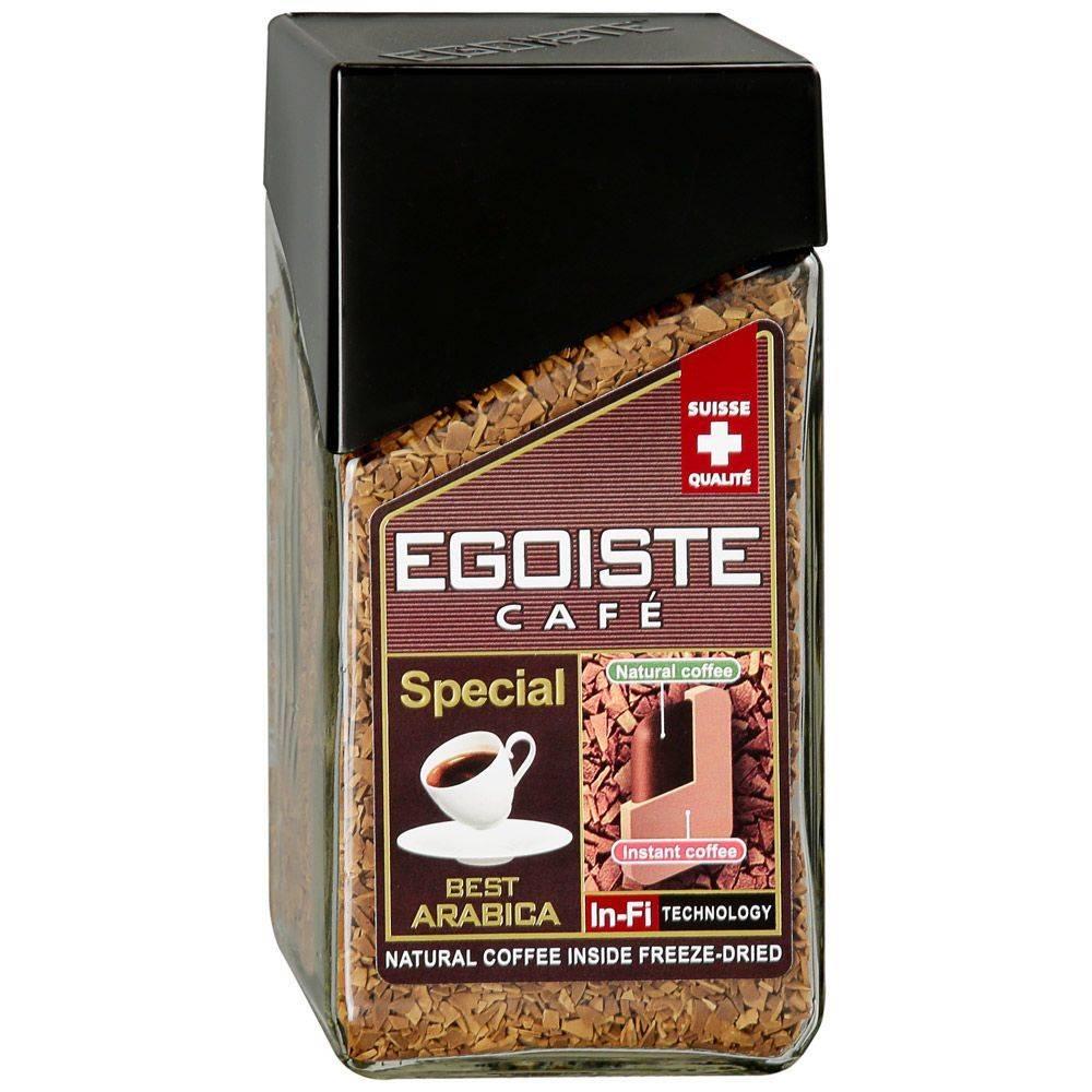 Кофе egoiste special молотый в растворимом 100 г
